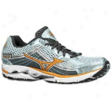 Mizuno Wave Equestrian 15 - Womens - Bleached Aqua/sun Orange/dark Shadow