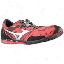 Mizuno Wave Universe 4 - Mens - Spicy Red/silver/anthracite