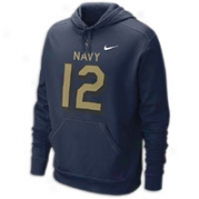 Navy Nike College Rivalry Ko Hoodie - Mens - Navy