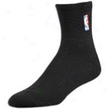 Nba Lewgue Geat For Bare Feet Nba Qtr Sock - Mens - Black