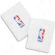 Nba League Gear For Bare Feet Nba Wristbands - White