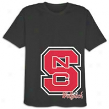 Nc State Team Edition College True Deal T-shirt - Mens - Black