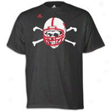 Nebraska Adidas College Seconc With most propriety Logo T-shirt - Mens - Black