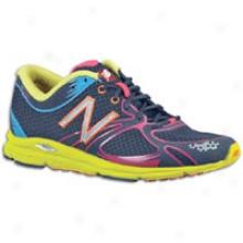 New Balance 1400 - Womens - Navy/neon Yellow/berry/blue/orange