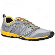 New Balance 20 Minimus Trail 2 - Mens - Silver/yellow