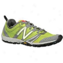 New Balance 20 Minimus Trail 2 - Womens - Lime/grey