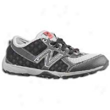 New Balance 20 Minimus Trail - Big Kids - Black/silver