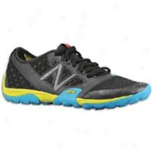 New Balance 20 Minimus Trail - Womens - Black/yellow/blue