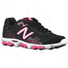New Balance 3090 - Womens - Jet Black/hi-viz Pink/white