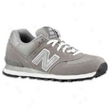 New Balance 574 - Mens - Grey/silver