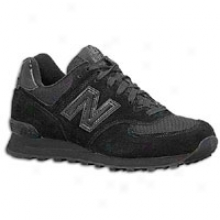 New Balance 574 Suede - Toddlers - Triple Black