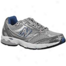 New Balance 615 - Mens - Grey/silver/navy