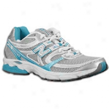 New Balance 615 - Womens - Silver/turquoise