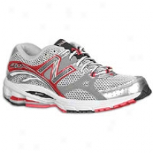 New Balance 870 - Mens - Red/silver
