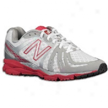New Balance 890 V2 - Womens - White/pink