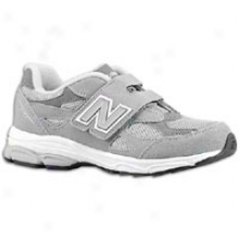 New Balance 990 Hook And Loop - Little Kids - Grey