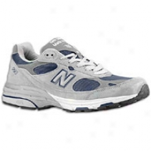New Balance 993 - Mens - Grey/navy