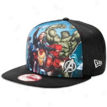 New Era Avengers Snapback 9fifty Cap - Mens - Black