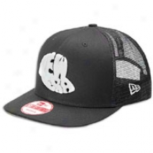 New Era Cap Logo Trucker Sv Cap - Mens - Black