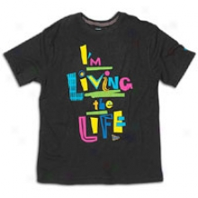 New Era Living Life Tee - Mens - Black Seasonal Colors