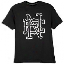 New Era Ne Interlock S/s T-shirt - Mens - Black