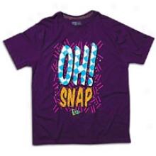 New Era Oh Snap Tee - Mens - Purole Seasonal Colors