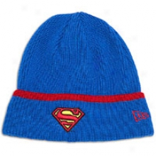 New Era Pop Cuff Knit Beanie - Mens - Superman