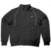 New Era Scripted Clip Track Jacket - Mens - Murky