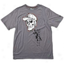 New Era Cranium Stencil T-shirt - Mens - Graphite