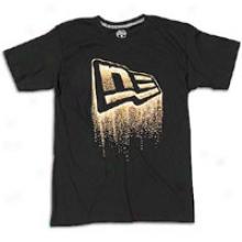 New Erra Spark Flag T-sjirt - Mens - Black/gold