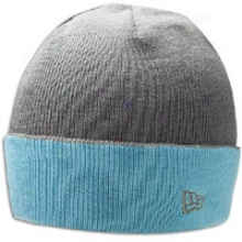 New Era Two Bar Beanie - Mens - Graphite/vice Blue