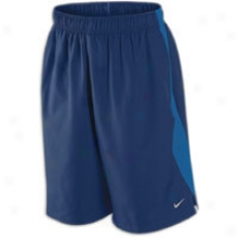 "Nike 11"" Spike Short - Mens - Binary Blue/dirty Blue/reflective Silver"