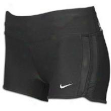 Nike 2&q0ut; Boy Short - Womens - Black/matte Silver