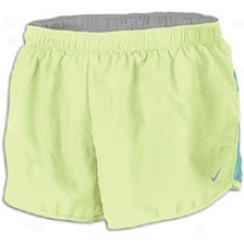 "Nike 2"" Roaad Race Short - Womens - Liquid Lime/tropical Twist/reflective Silver"