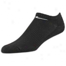 Nike 3 Pack 1/2 Cushion No Show Sock - Haughty Kids - Black