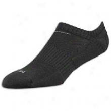 Nike 3 Pk Dri-fit 1 /2 Cushion No-show Sock - Mens - Black