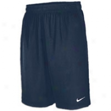 "Nike 3 Endure Fly 9.25"" Short - Mens - Navy/white/white"