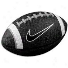 Nike 500 Mini Football - Big Kids - Black/white/grey