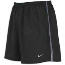 "Nike 5"" Woven Reflective Short - Mens - Blackk/anthracite/reflective Silver"
