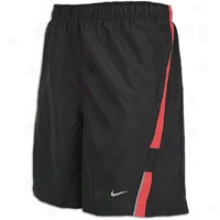 "Nike 7"" Essential Short - Mens - Black/university Red/reflective Silver"