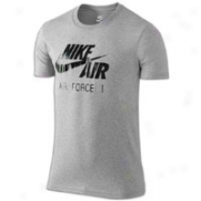 Nike Air Crew T-shirt - Mens - Dark Heather Grey
