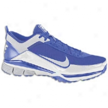 Nike Air Elite Pregame - Mens - Deep Royal/metallic Silver/whute