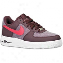 Nikr Air Force 1 07 Le Low - Mens - Red Mahogany/scarlt Fire/white