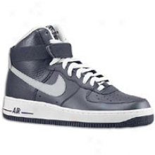 Nike Air Force 1 High 07 - Mens -O bsidian/wolf Grey/white