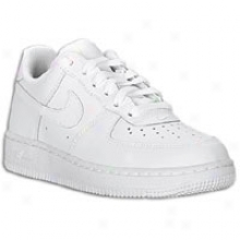 Nike Air Force 1 Low - Little Kids - White/white