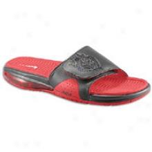 Nike Air Lebron Slide - Mens - Black/university Red/black