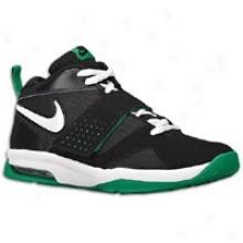 Nike Air Legacy 3 - Big Kids - Black/pine Green/white