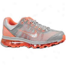 Nike Air Max + 2009 - Womens - Grey/melon/silver