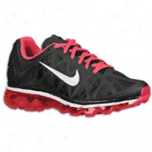 Nike Air Max+ 2011 - Womens - Black/cherry