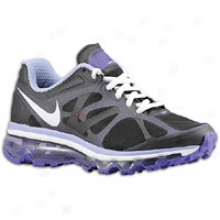 Nike Air Max 2012 - Full Kids - Black/pure Purple/lightt Thistle/white